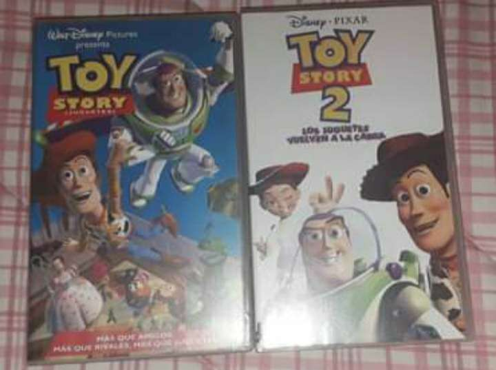 Imagen Toy story 1 y toy story 2 en vhs