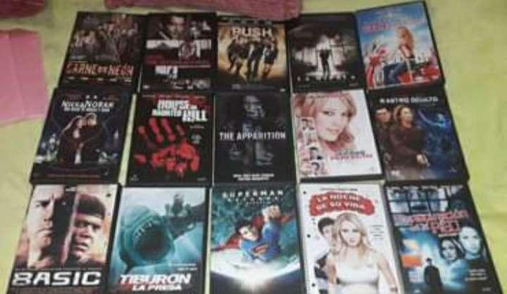 Imagen Pack 16 peliculas variadas en dvd