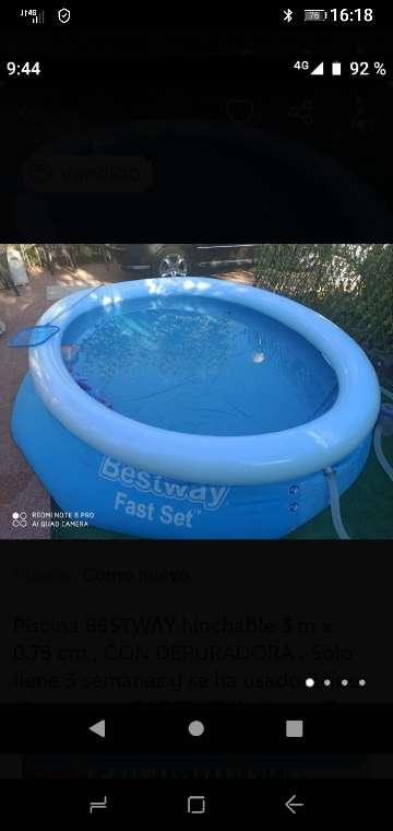 Imagen piscina desmontable