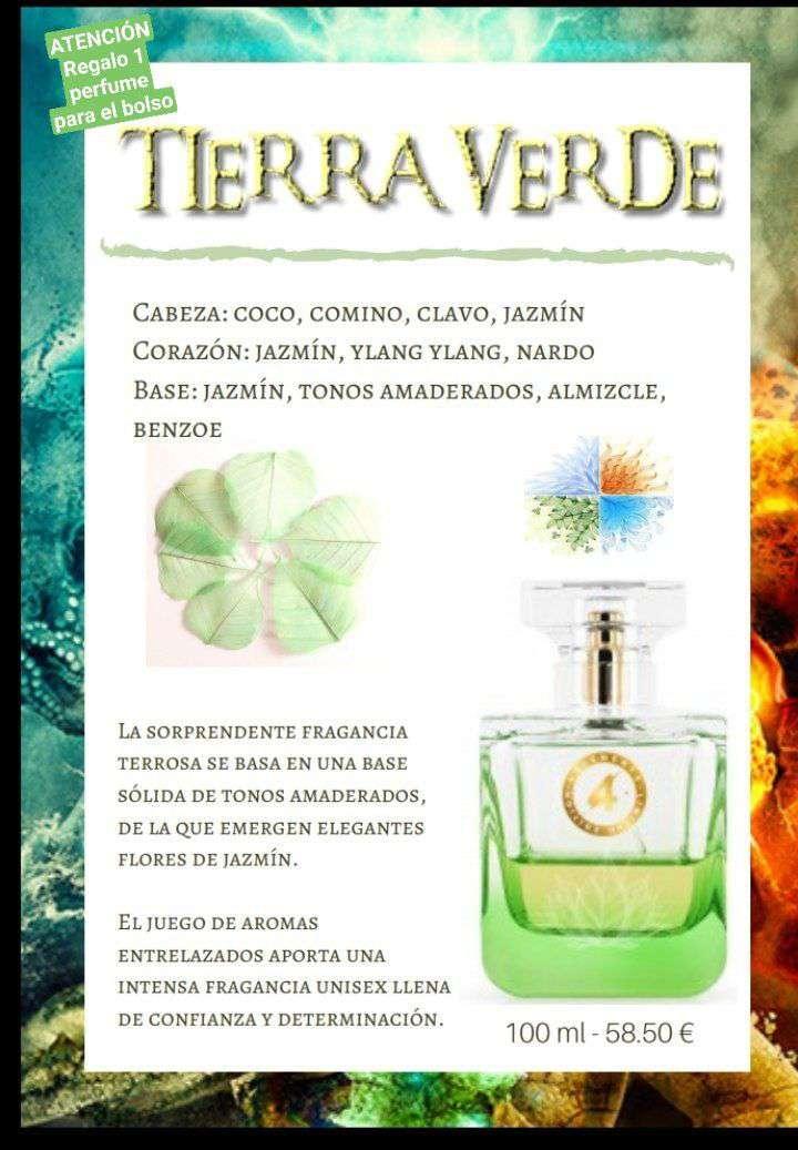 Imagen perfume unisex Tierra verde