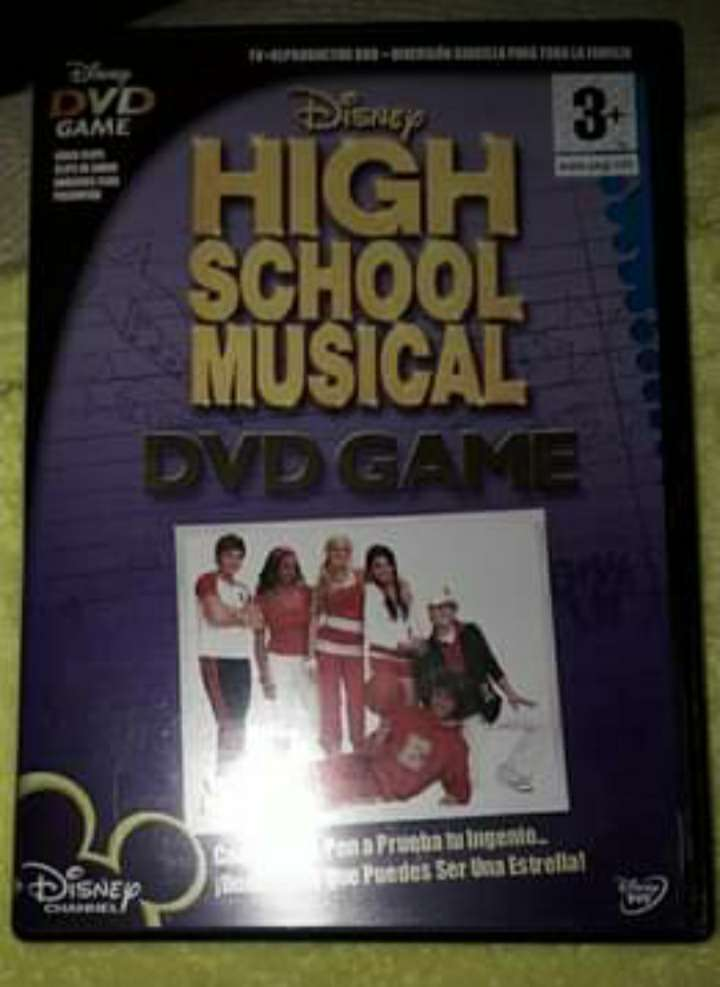 Imagen High school musical (DVD GAME)