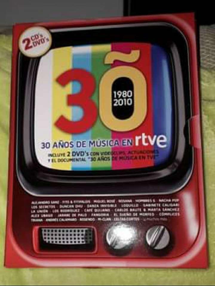 Imagen 30 Años de musica rtve CD/DVD