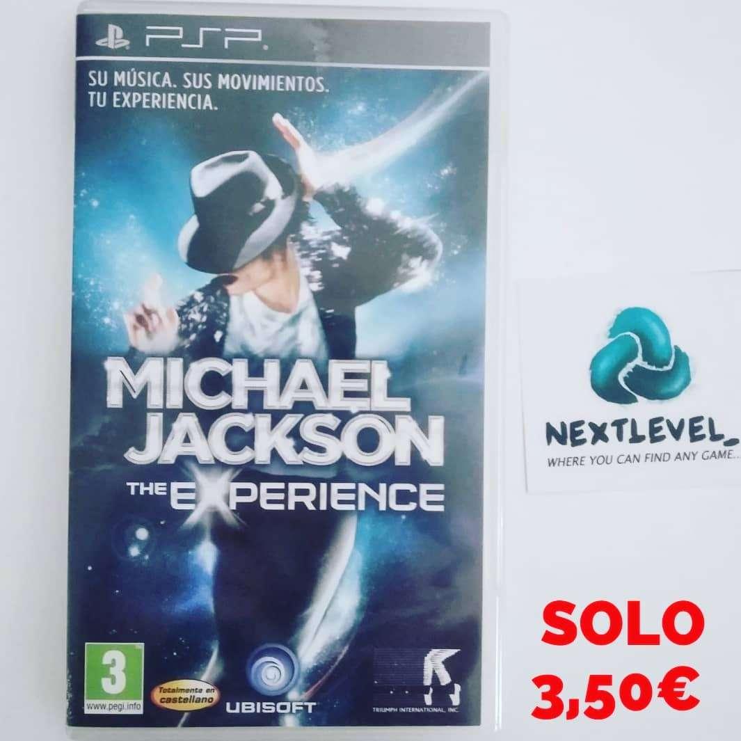 Imagen Michael Jackson the experience PSP