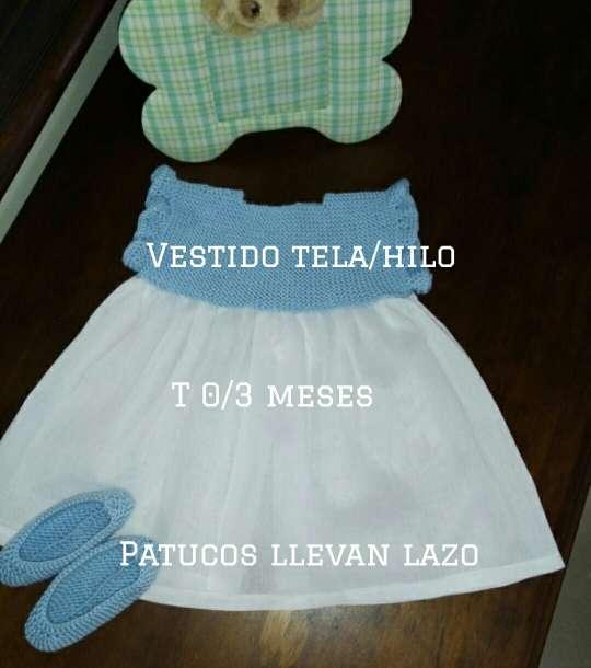 Imagen Vestido tela/Hilo