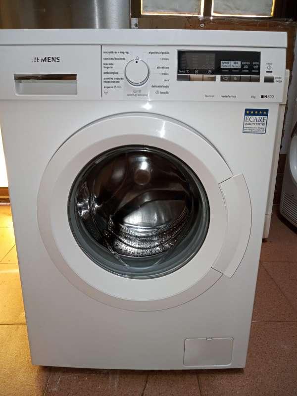 Imagen Lavadora Siemens 8kg