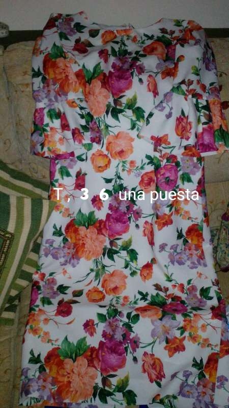 Imagen Vestido fiesta T 36