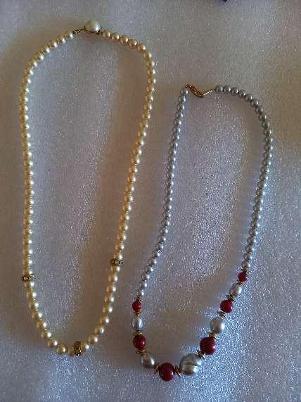 Imagen collares de perlas