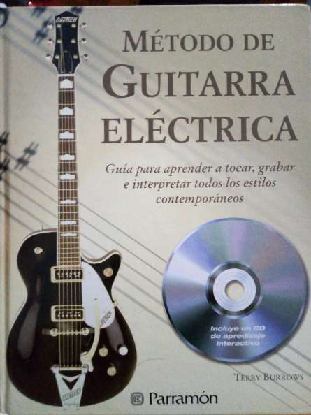 Imagen libro para aprender a tocar guitarra eléctrica