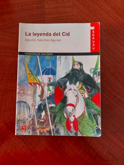 Imagen Vendo libro 'La Leyenda del Cid'