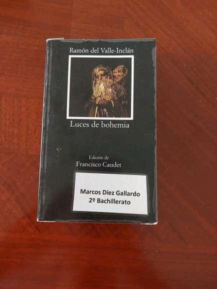 Imagen Se vende libro 'Luces de Bohemia