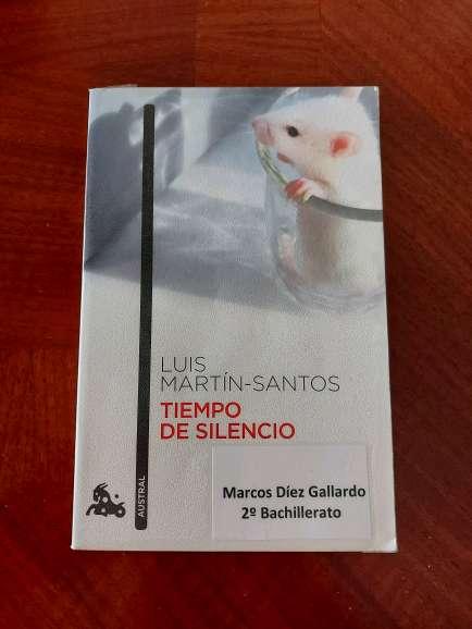 Imagen Se vende libro 'Tiempo de Silencio'