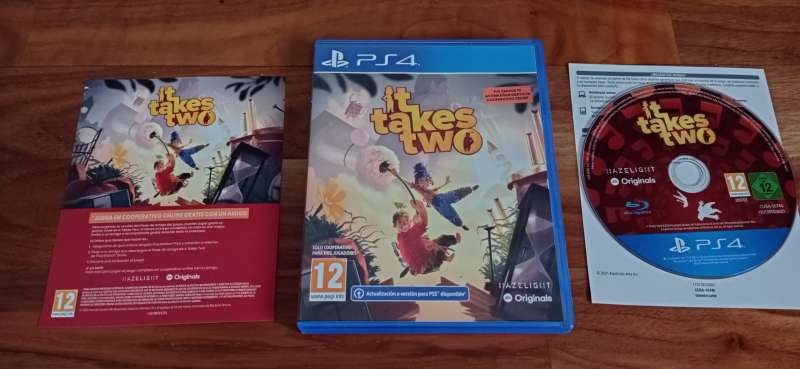 Imagen It Take Two PlayStation 4 Play 4 PS4
