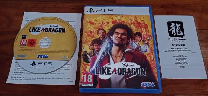 Imagen Yakuza like a dragon PlayStation 5 Play 5 Ps5