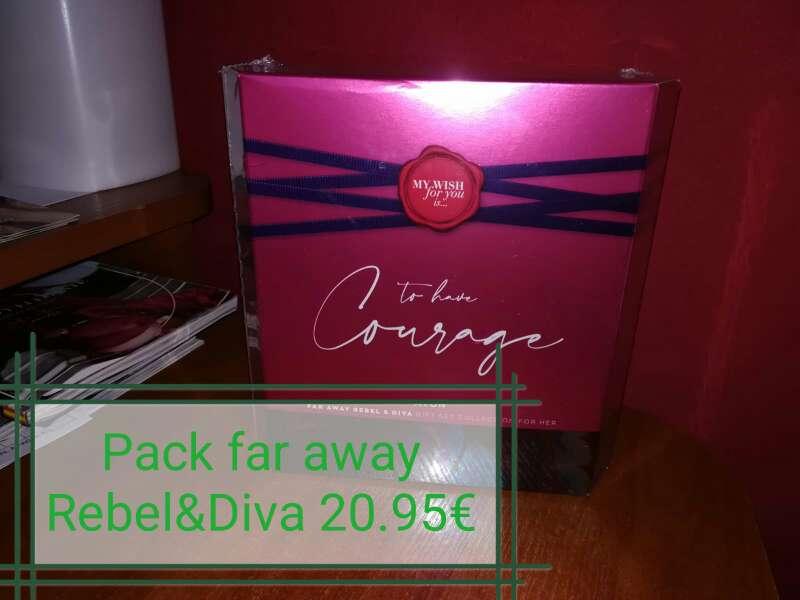 Imagen Pack Far away Rebel&Diva