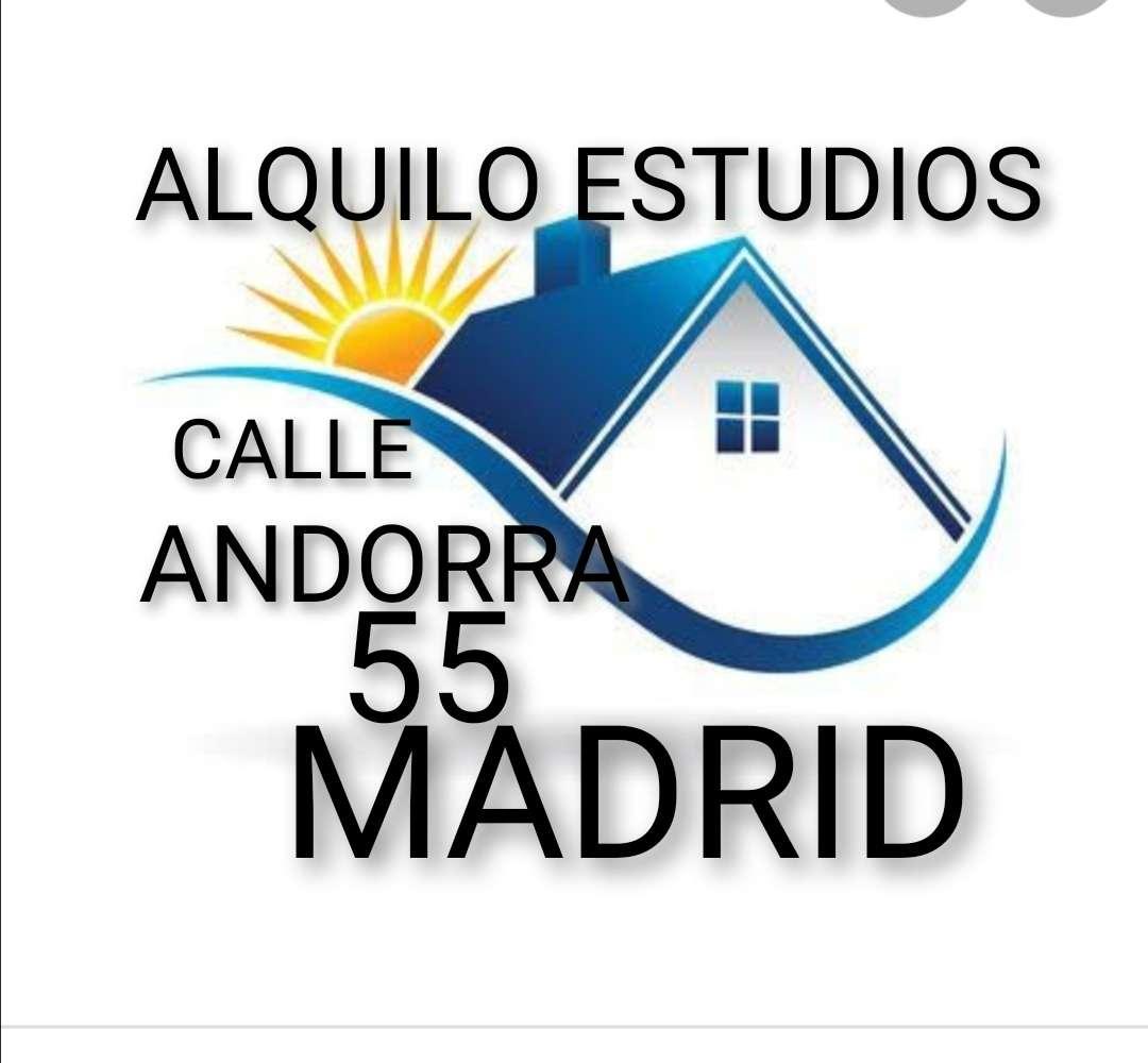 Imagen Alquilo estudio calle andorra 55 madrid