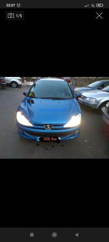 Imagen Peugeot 206 sw 90cv sx oferta!!!
