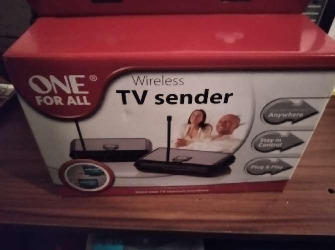 Imagen TV sender one for all