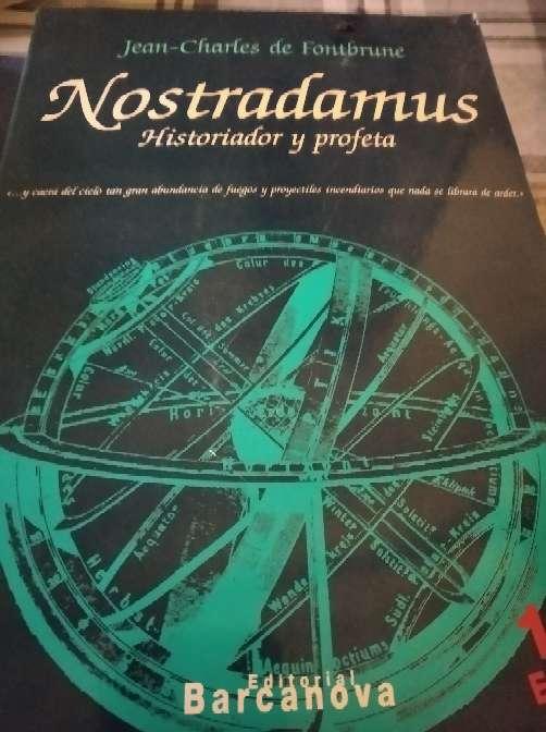 Imagen libro nostradamus