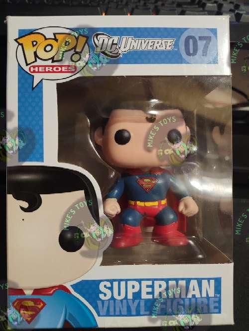 Imagen Figura Primera Edición Superman Funko Pop