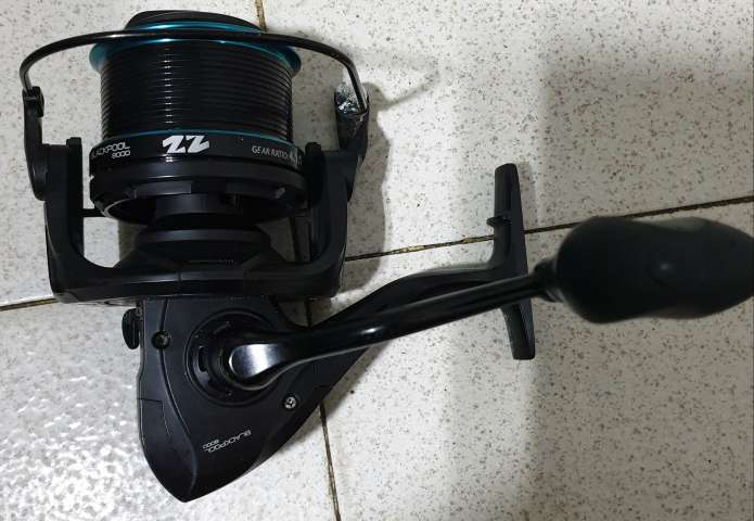 Imagen carrete pesca blackpool 8000