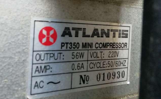 Imagen Mini compressor Atlantis