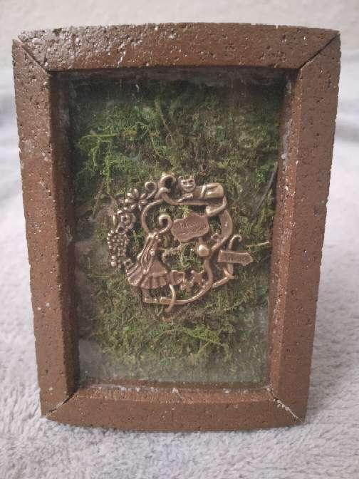 Imagen Cuadro artesanal de Alicia en el País de las Maravillas