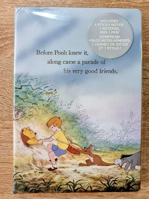 Imagen Cuaderno y notas adhesivas Winnie the Pooh.