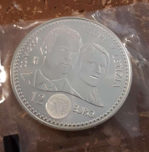 Imagen Moneda plata 12 euros