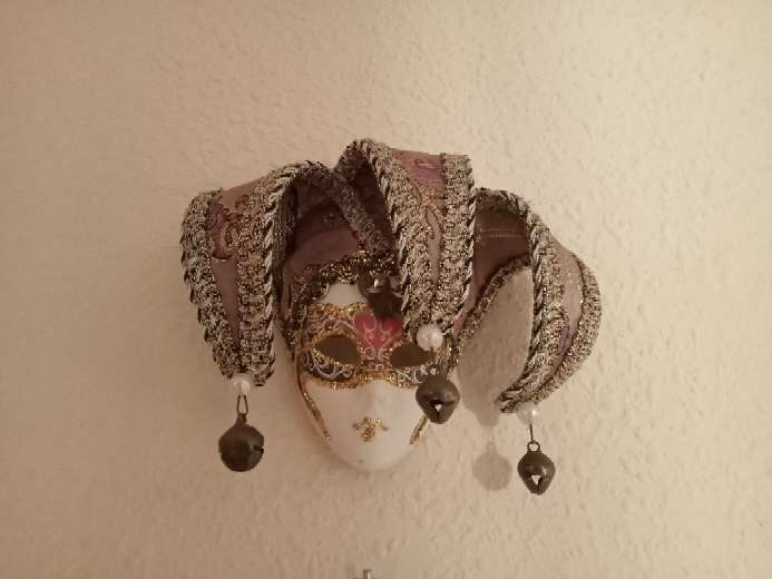 Imagen Máscara pequeña carnaval Venecia