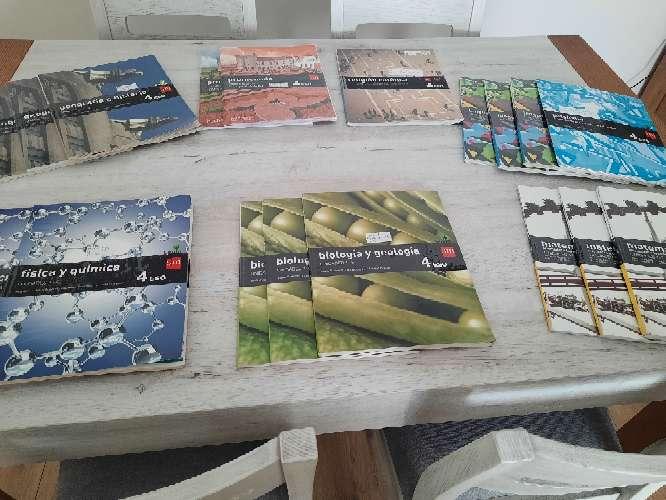 Imagen libros texto 4° de la ESO