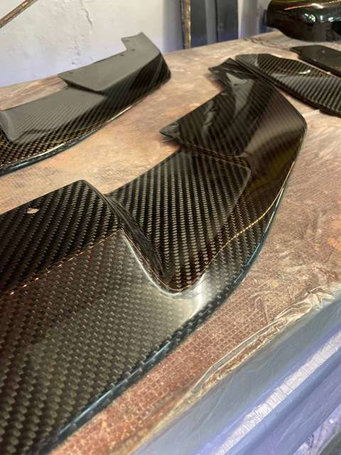 Imagen producto Front Lip de Carbono real BMW M2 Competition 5