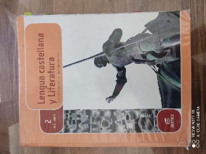 Imagen Libro lengua y literatura 2°Bachillerato