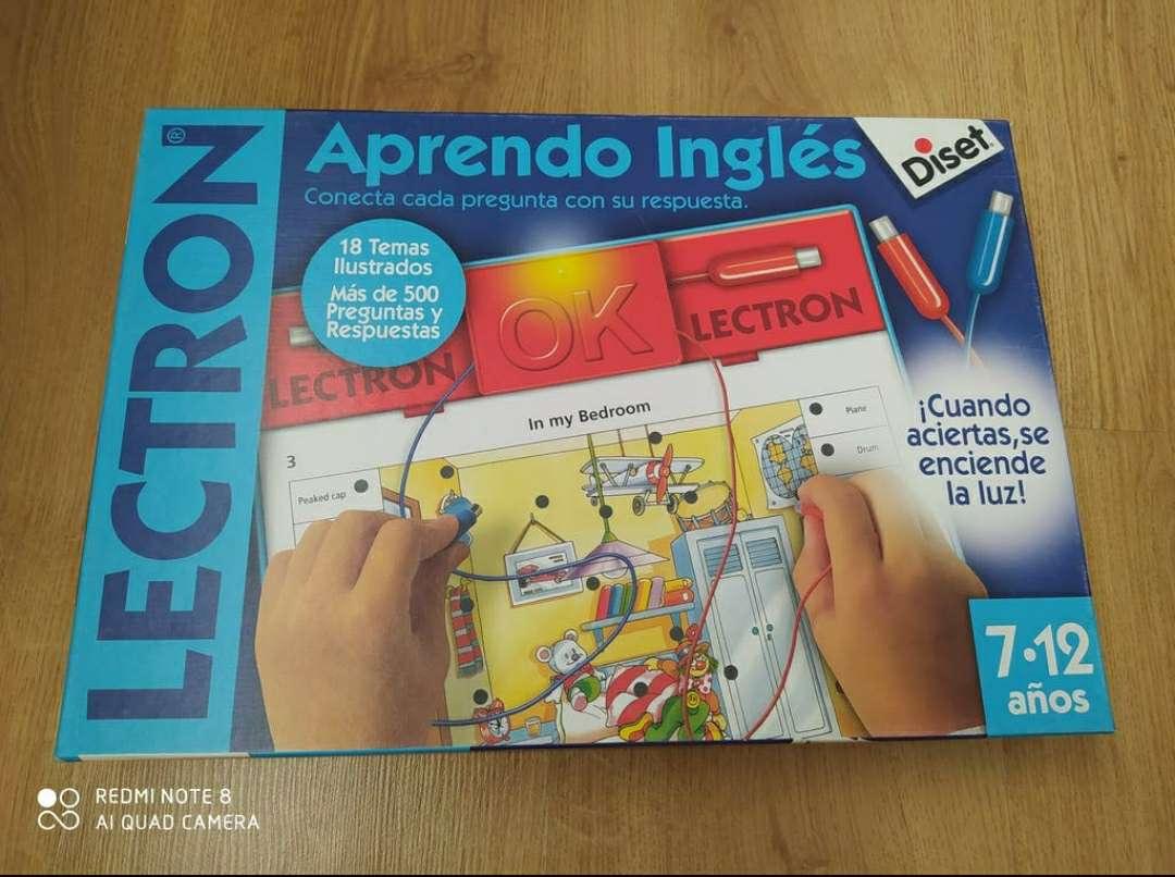 Imagen Lectrón Aprendo inglés (7-12 años)