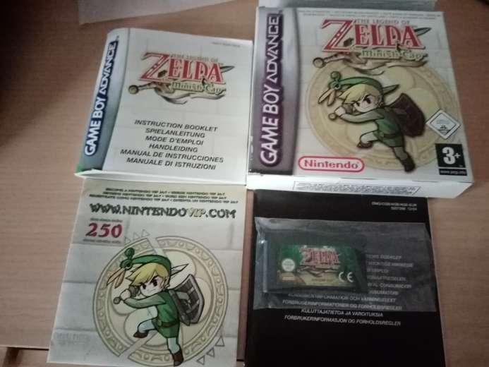 Imagen Juego Zelda minish cap completo
