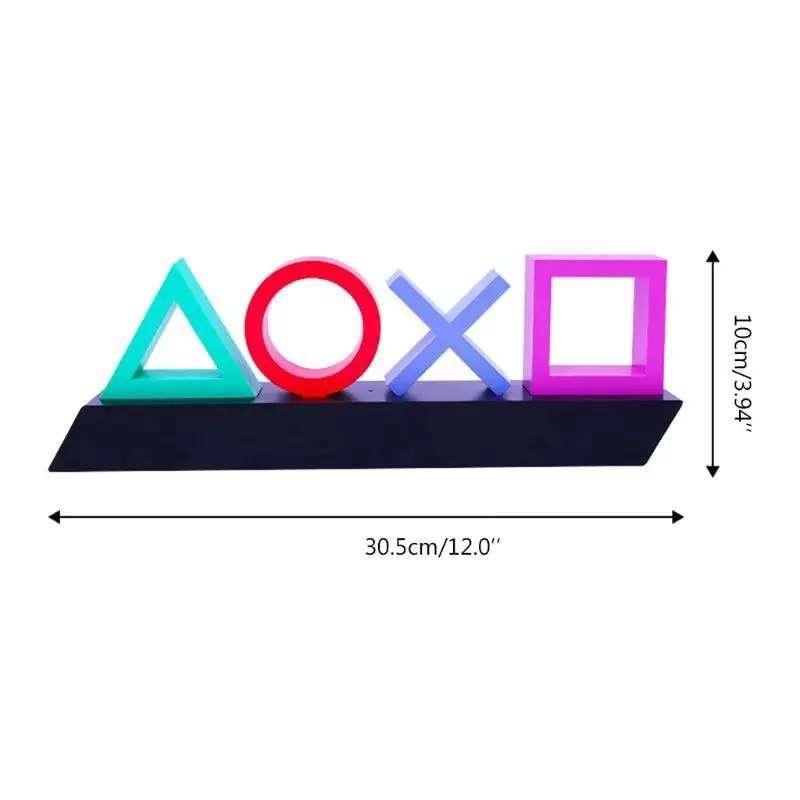 Imagen Lámpara PlayStation luz neón