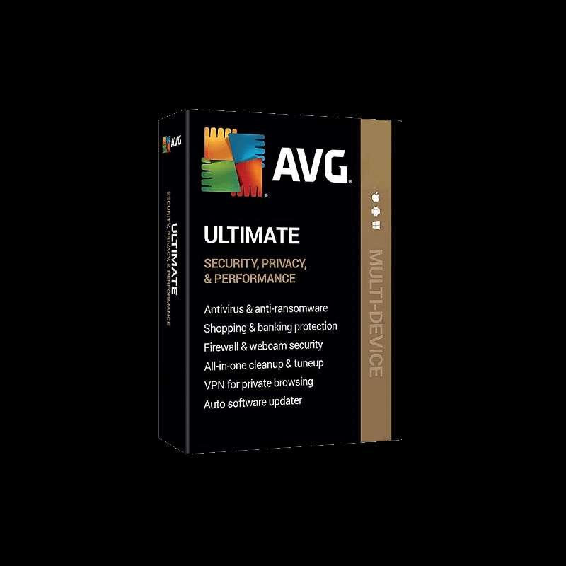 Imagen Antivirus AVG ULTIMATE 10 Dispositivos