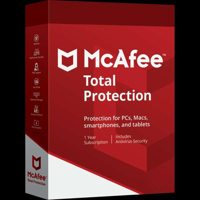 Imagen Antivirus McAfee Total Protection 1 Usuario