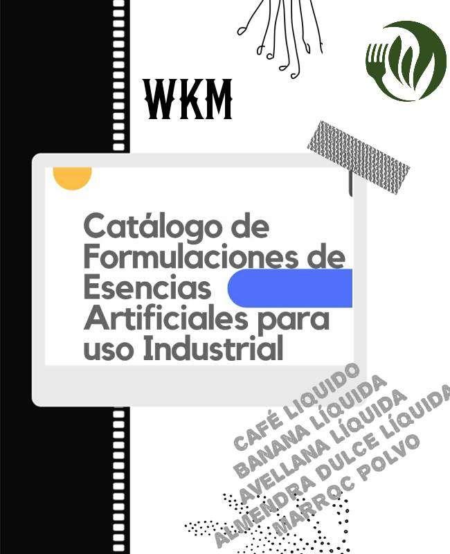 Imagen Catálogo de Formulaciones de Esencias Artificiales para su elaboración industrial