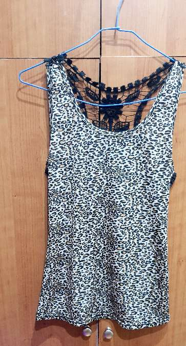 Imagen Camiseta leopardo tirantes