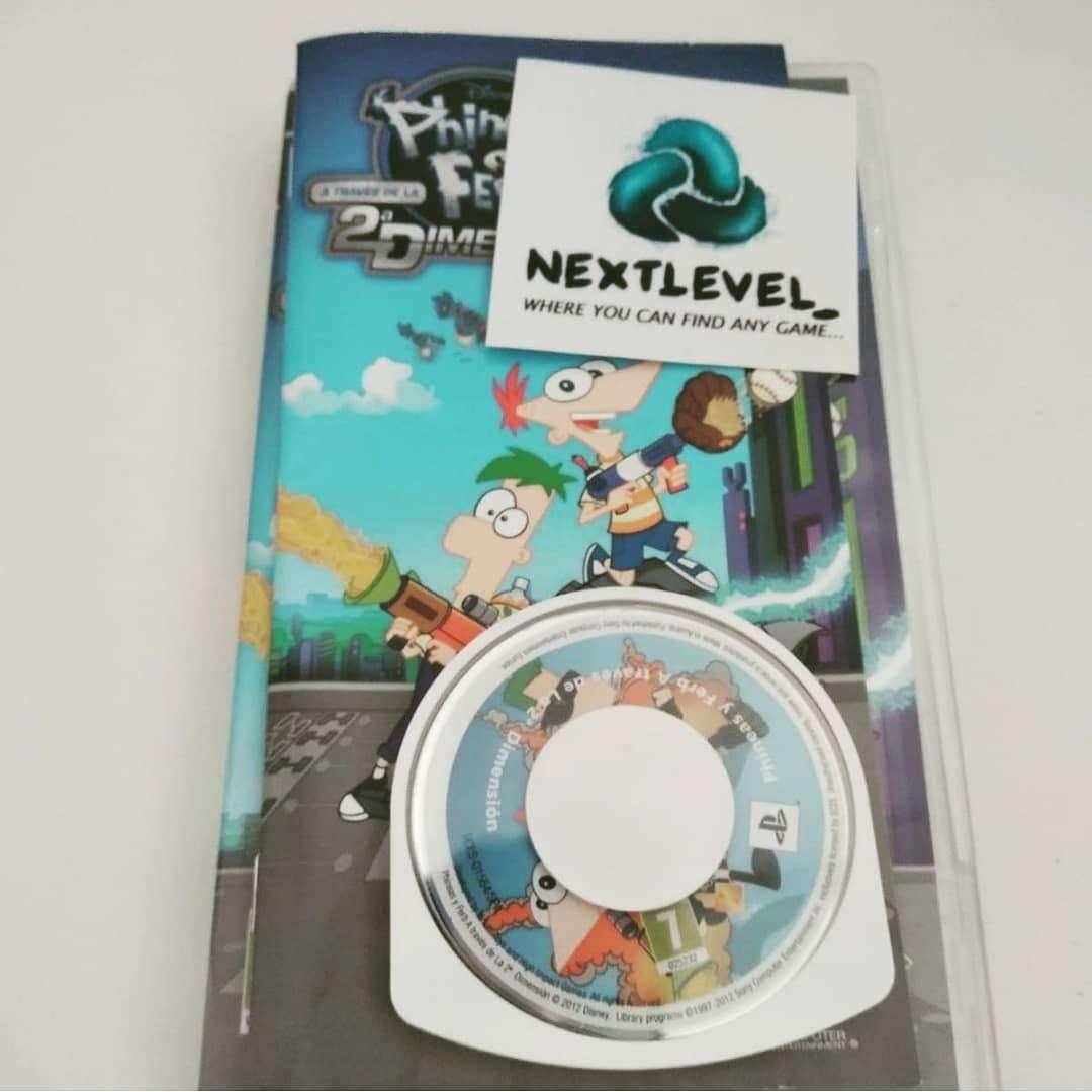 Imagen Phineas y Ferb 2a dimensión