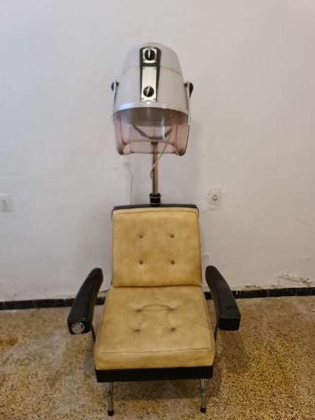 Imagen Sillon de peluquería con secador