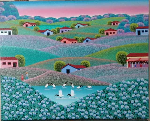 Imagen Robson barros tema paisagem campestre medida 50x40
