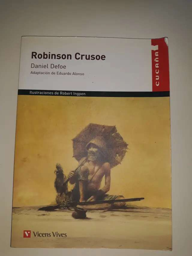 Imagen Libro - Robinson Crusoe (Daniel Defoe)