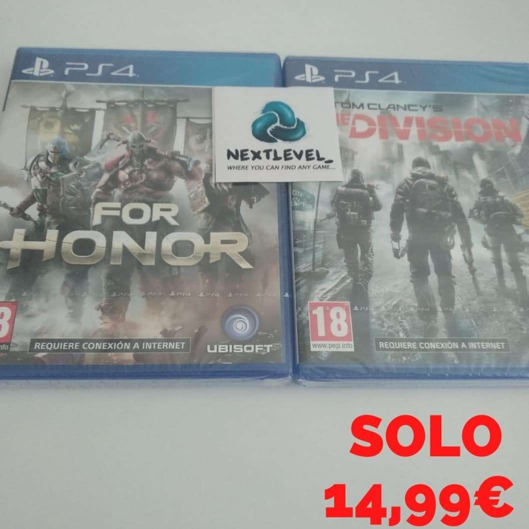 Imagen Tom clancy's the division for honor ps4