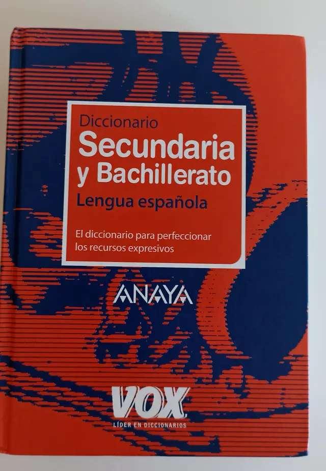 Imagen Diccionario Secundaria y bachillerato lengua española