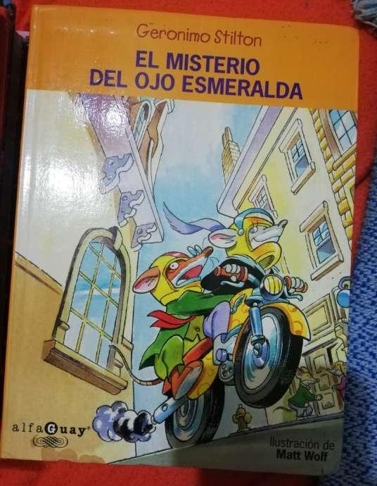 Imagen cuentos Gerónimo Stilton