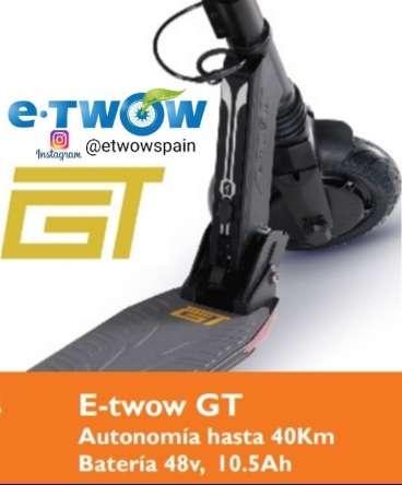 Imagen Patinete eléctrico E-twow GT SE 700w a 880€