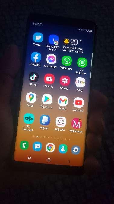 Imagen Samsung Note 8 completo em caixa