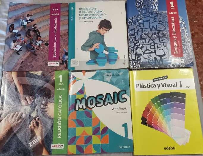 Imagen Vendo libros de texto de 1° de la eso en buen estado.