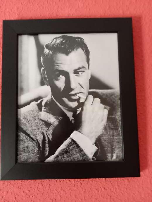 Imagen cuadro actor Gary Cooper